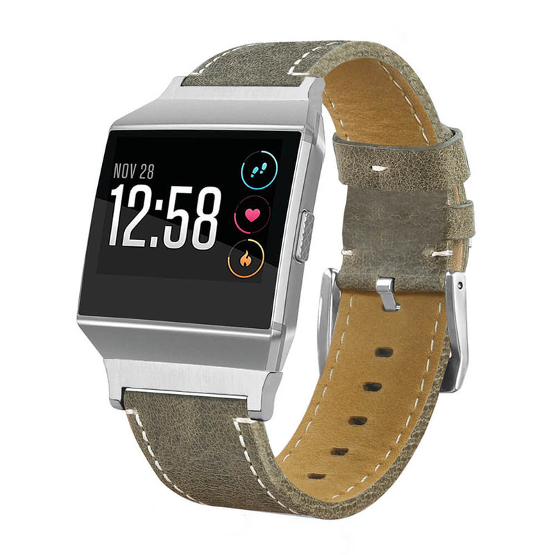 Durable Genuine Leather Wristbands for Fitbit Ionic - BandGet