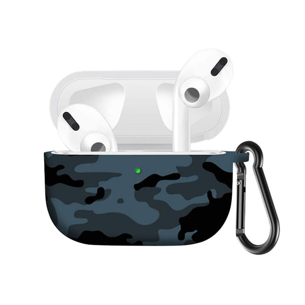 Colourful Silicone Protective Cover for AirPods Pro with Keychain - BandGet