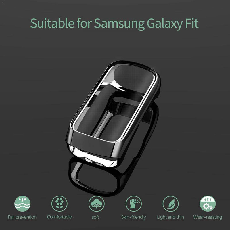 All-Inclusive TPU Plating Protective Film for Galaxy Fit - BandGet
