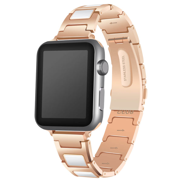Stainless Steel & Ceramics Bands for Apple Watch 5 4 3 2 1 - BandGet