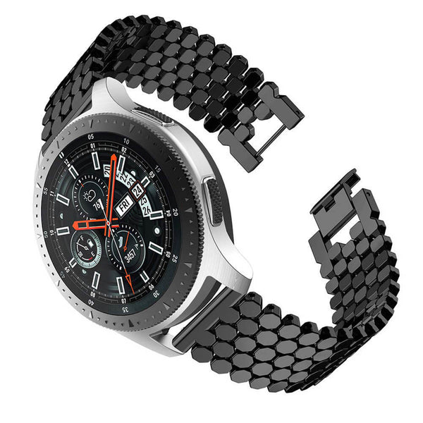 Fish Scale Alloy Straps for Samsung Gear S3 Smarwatch - BandGet
