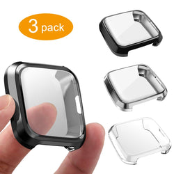 3-Pack All-Around Screen Protector for Fitbit Versa Lite Edition - BandGet