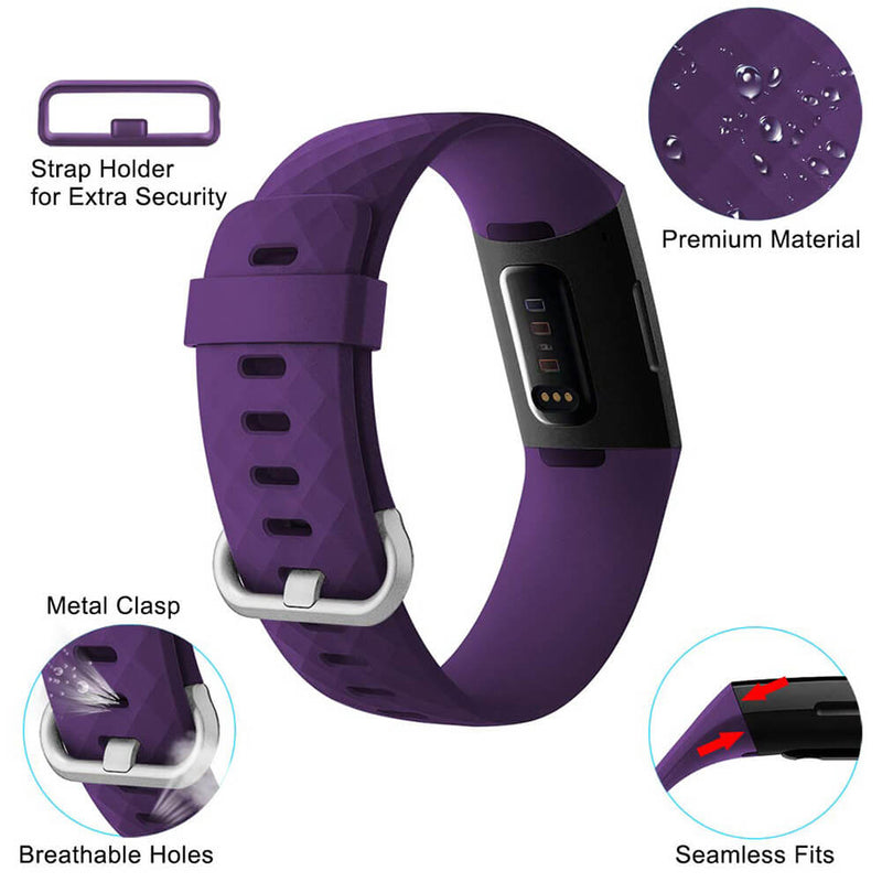 Sport Wristbands Replacement for Fitbit Charge 3 & Charge 3 SE - BandGet