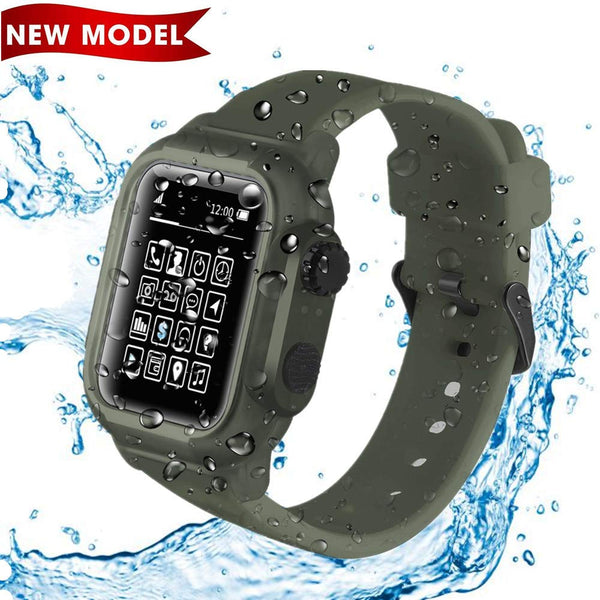Waterproof Case Band for Apple Watch Series 5/4 44mm 40mm - BandGet