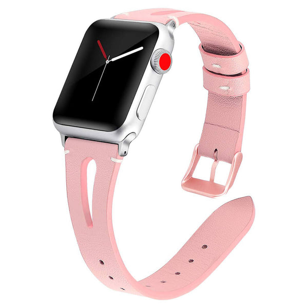 Breathable Leather Bands Replacement for Apple Watch 5 4 3 2 1 - BandGet