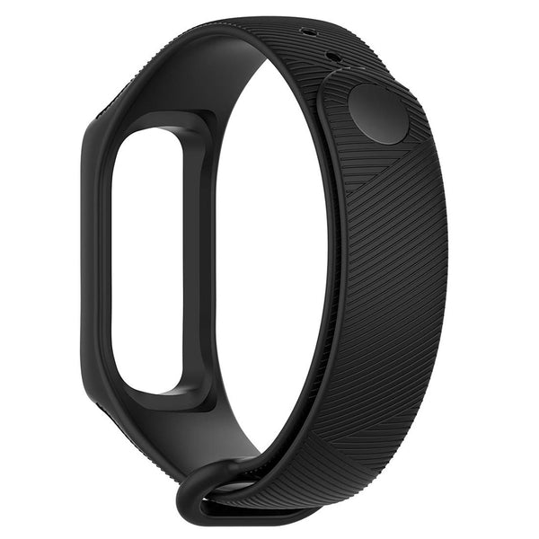 Silicone Black Bands for Samsung Galaxy Fit E Smartwatch - BandGet