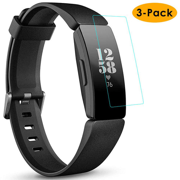 3-Pack Tempered Glass for Fitbit Inspire / Inspire HR - BandGet