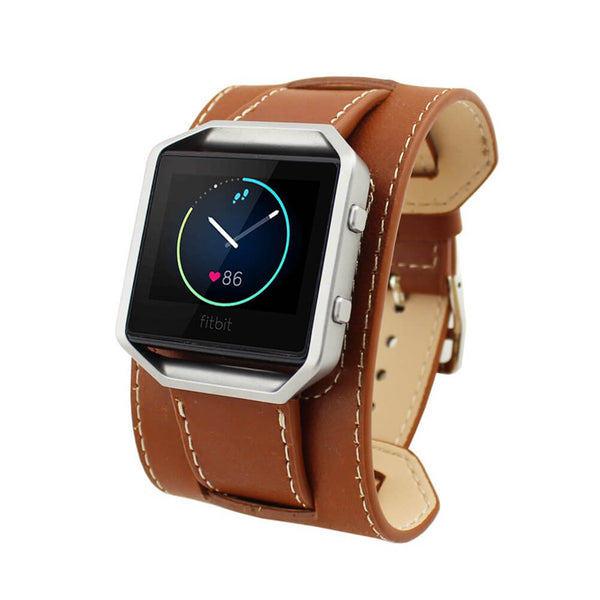 Luxury Genuine Leather Bands for Fitbit Blaze - BandGet