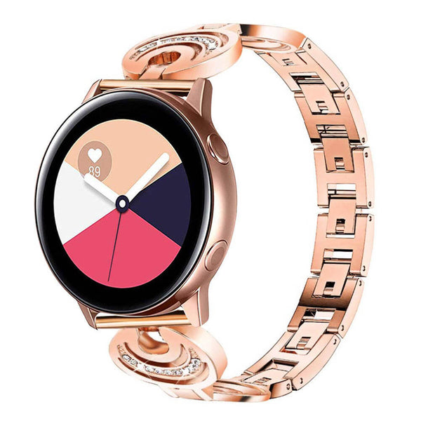 Modish Diamond Metal Bracelets for Galaxy Watch Active - BandGet