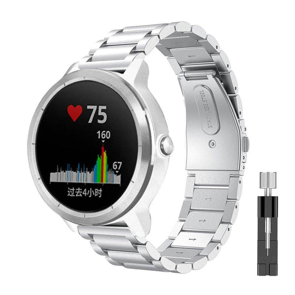 Stainless Steel Metal Bands for Garmin Vivoactive 3 - BandGet