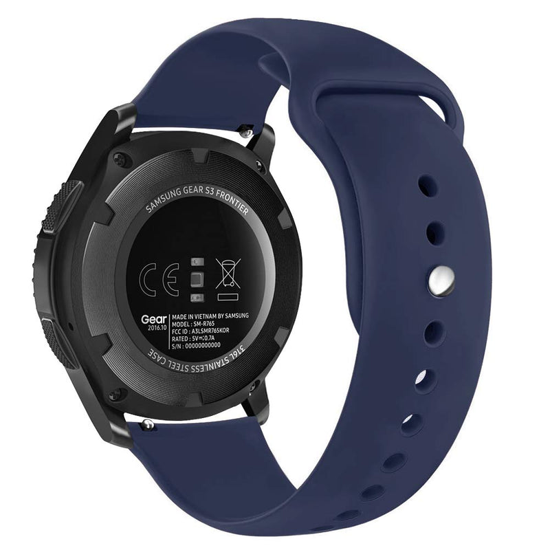 Sport Silicone Wristbands for Samsung Galaxy Watch 46mm / Gear S3 - BandGet
