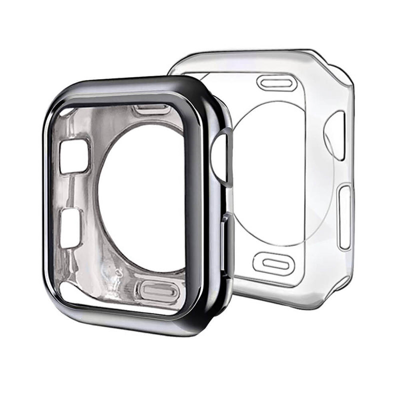 2-Pack Slim Protective Case for Apple Watch Series 5 4 3 2 - BandGet