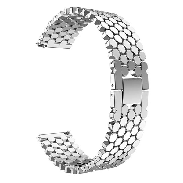 Fish Scale Alloy Straps for Samsung Galaxy Watch 46mm - BandGet