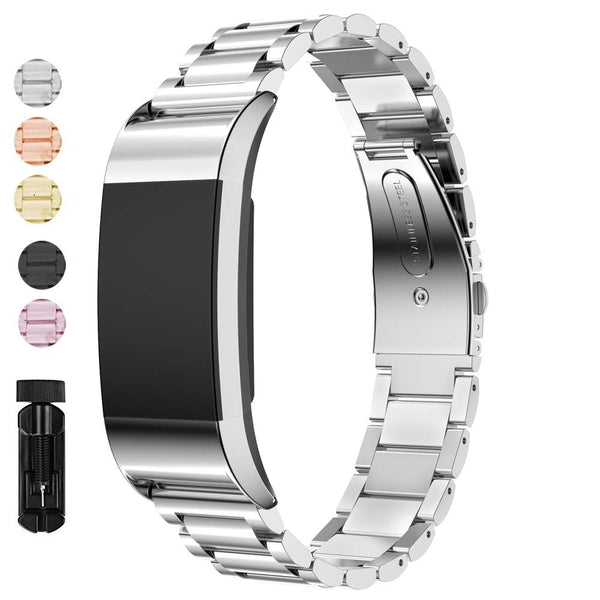 Stainless Steel Band Replacement for Fitbit Charge 2 - BandGet