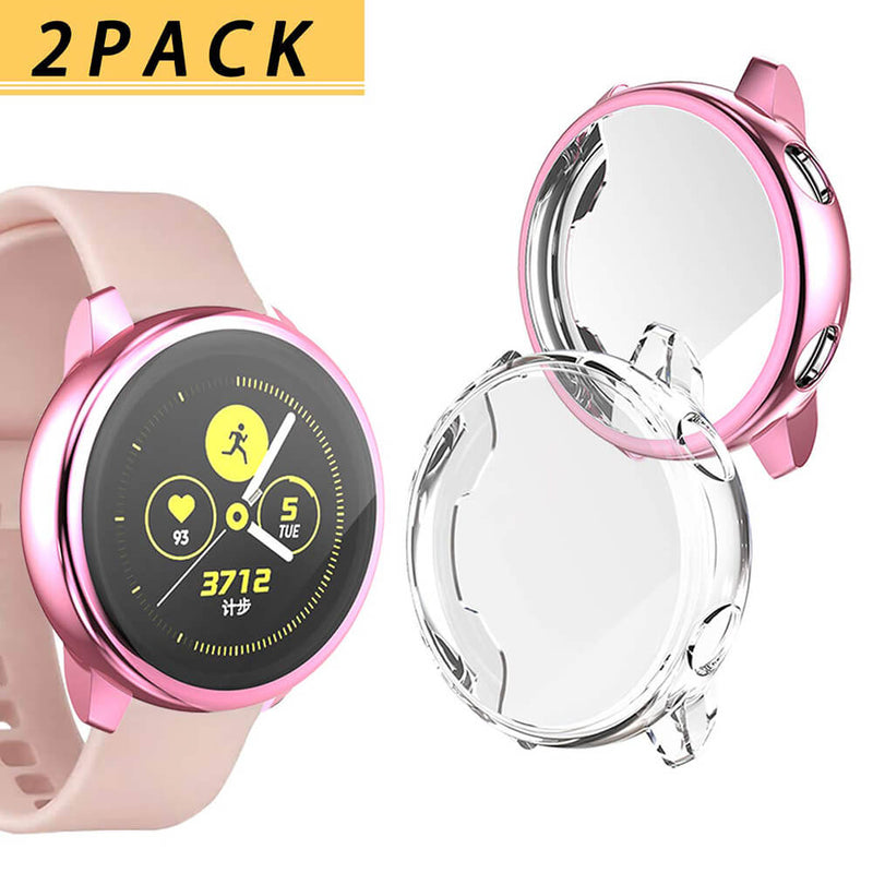 Soft TPU Full Around Screen Protector for Samsung Galaxy Watch Active - BandGet