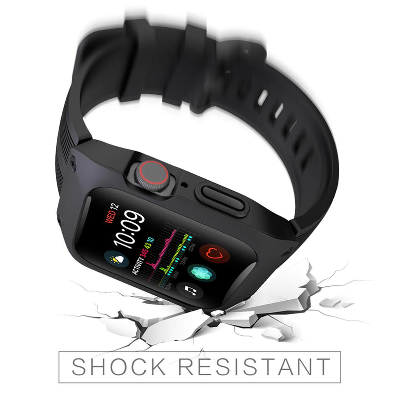 Rugged Armor Watch Bands for Apple Watch 5 4 3 2 1 - BandGet