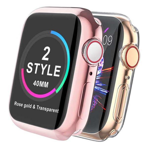 2 Pack Full Protective Cases for Apple Watch Series 5 / 4 - BandGet