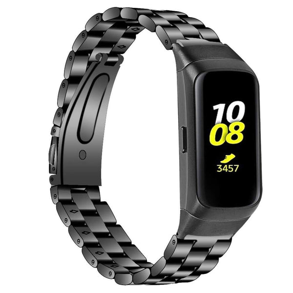 Solid Stainless Steel Bands for Galaxy Fit E Smartwatch - BandGet