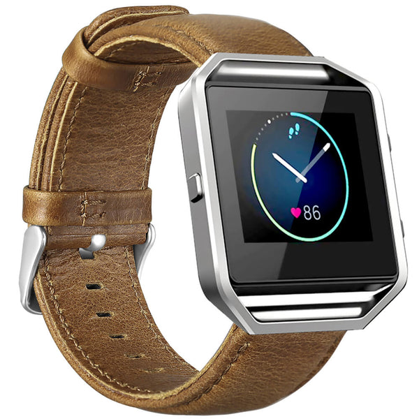 Crazy Horse Leather Bands for Fitbit Blaze - BandGet