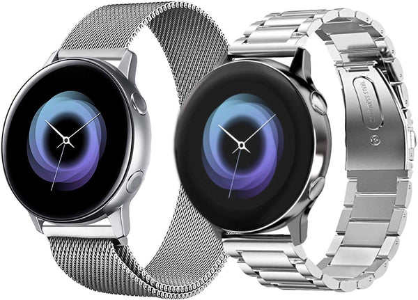 Stainless Steel Bracelets for Galaxy Watch Active 2 / Active / 42mm - BandGet