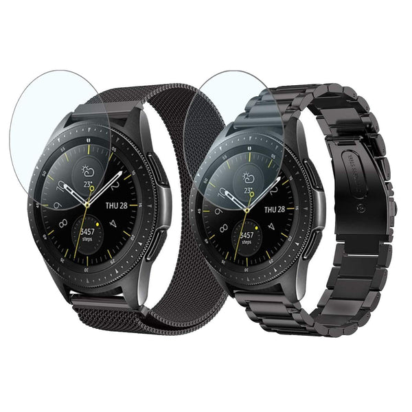 2pcs Metal Milanese Bands for Samsung Galaxy Watch 46mm - BandGet