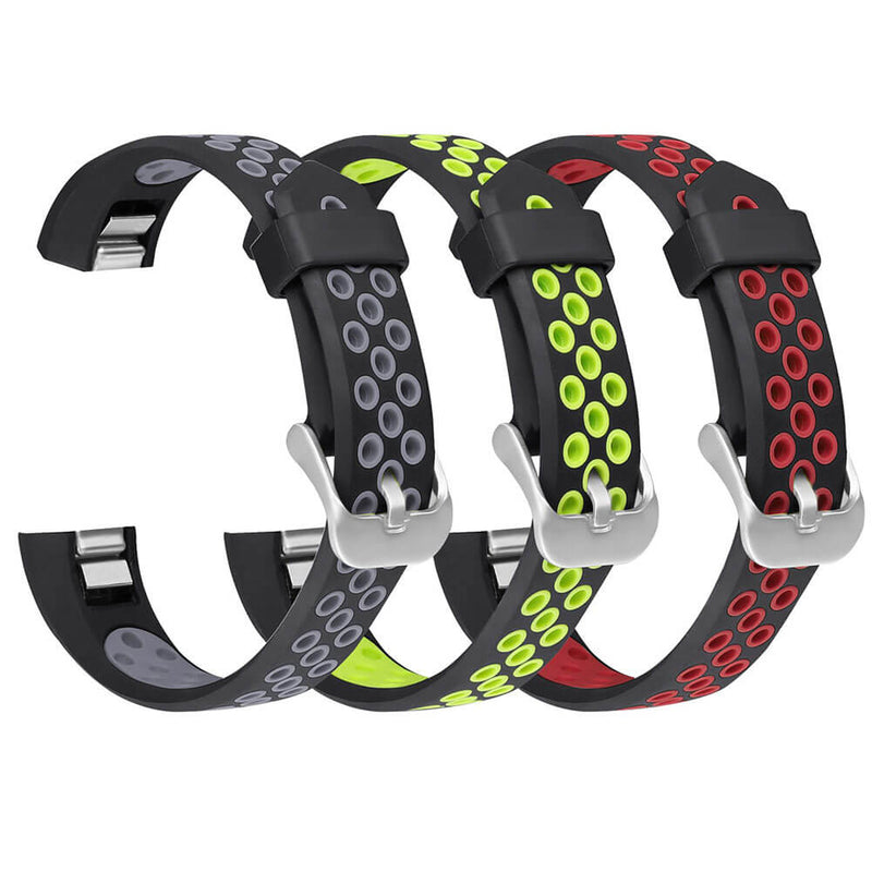 3-Pack Sport Bands Replacement for Fitbit Alta / Alta HR / Fitbit Ace - BandGet
