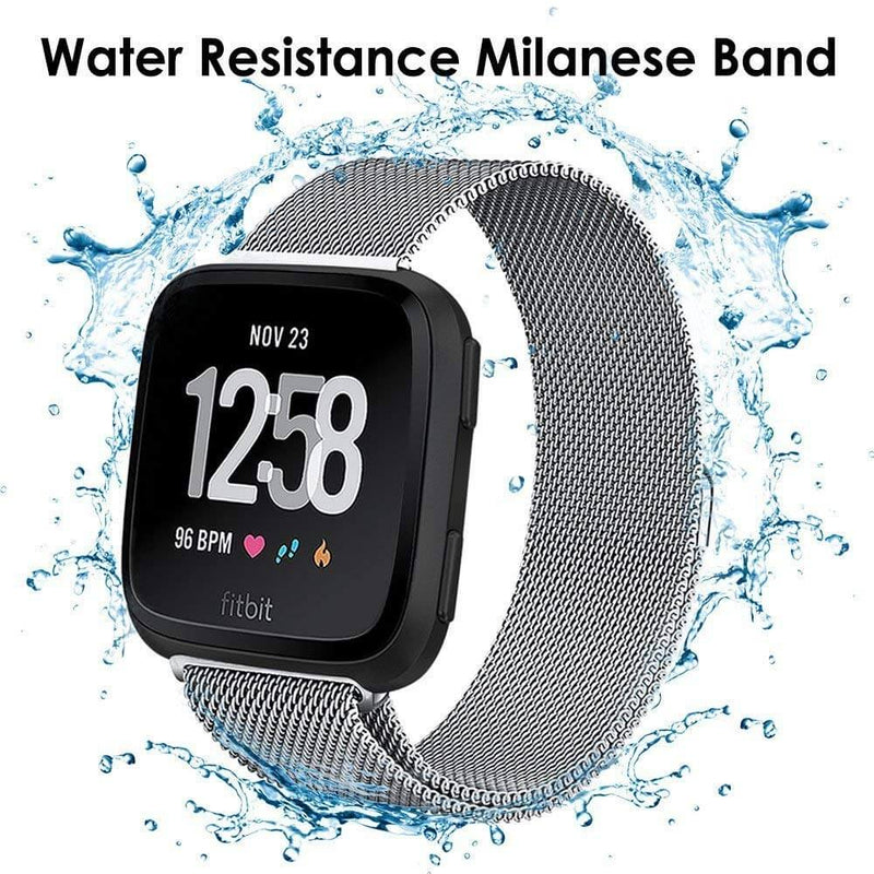 Milanese Mesh Bands Replacement for Fitbit Versa 2 / Versa / Versa Lite - BandGet