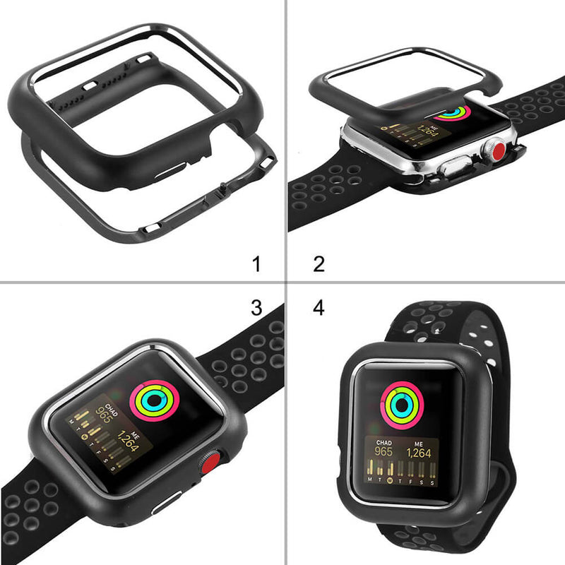 Magnetic Absorption All-Around Bumper for Apple Watch Series 5 4 3 2 - BandGet