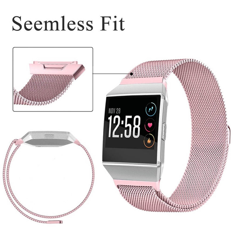 Stainless Steel Milanese Replacement Bands for Fitbit Ionic - BandGet