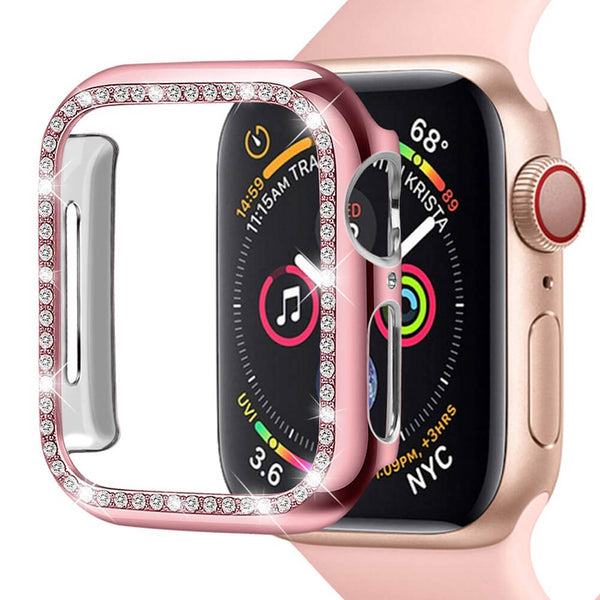 Glitter Soft Protective Case for Apple Watch 5 4 44mm 40mm - BandGet