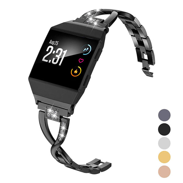 Bling Metal Replacement Bracelets for Fitbit Ionic - BandGet