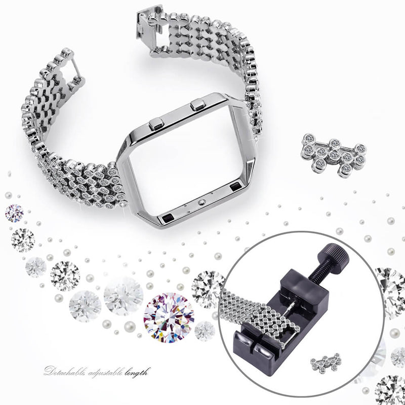 Metal Bands with Rhinestone for Fitbit Blaze - BandGet