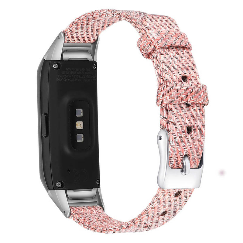 Soft Breathable Canvas Bands for Samsung Galaxy Fit e Smartwatch - BandGet