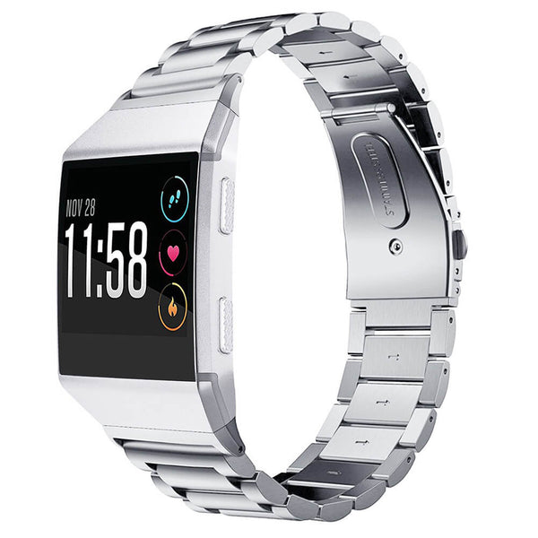 Stainless Steel Replacement Bands for Fitbit Ionic Watch - BandGet
