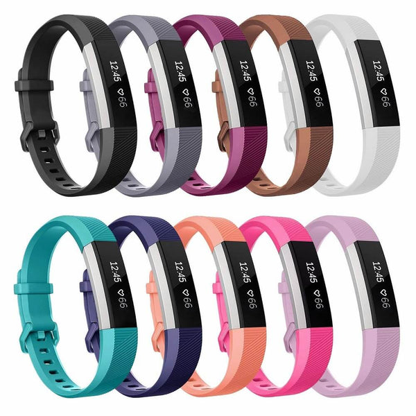 10-Pack Bands Compatible with Fitbit Alta & Alta HR - BandGet