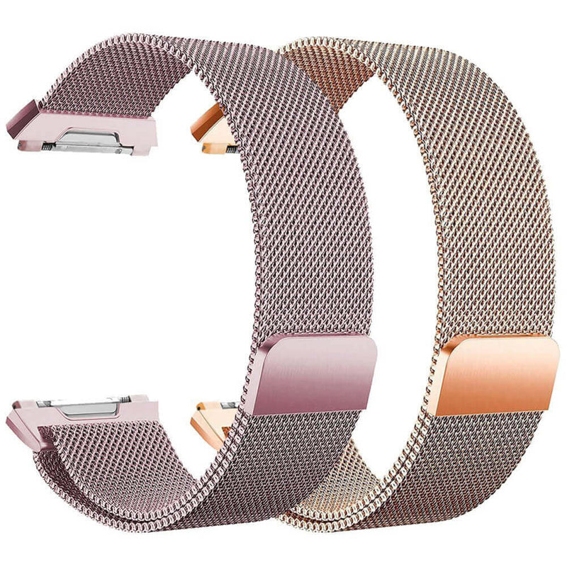 2pcs Milanese Loops Replacement for Fitbit Ionic Smart Watch - BandGet