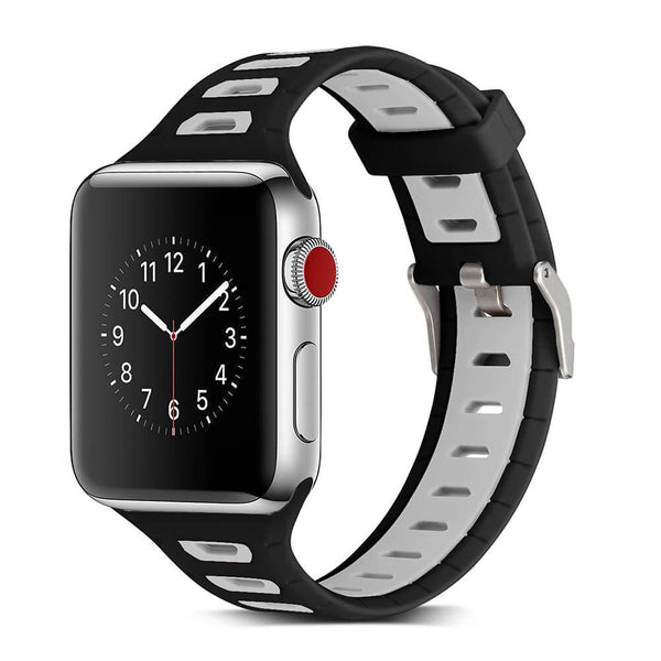 Breathable Silicone Bands for Apple Watch 5 4 3 2 1 - BandGet