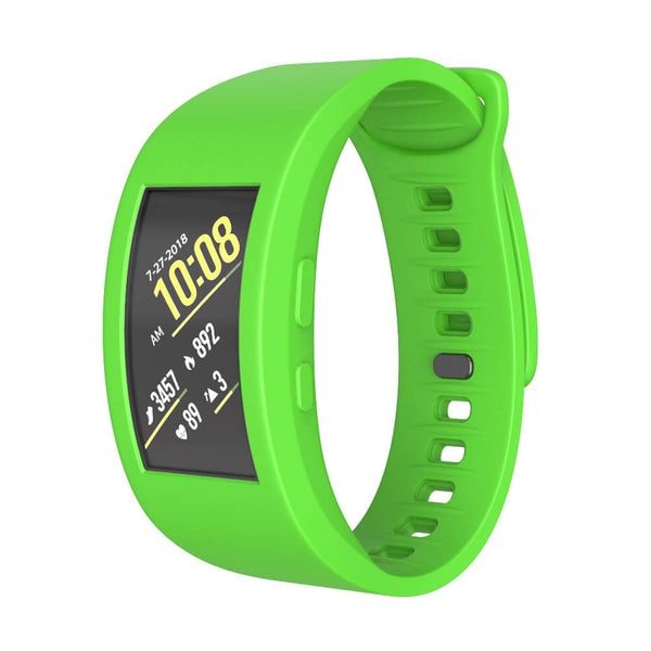 Silicone Conjoined Watch Strap for Samsung Gear Fit2 / Gear Fit 2 Pro - BandGet
