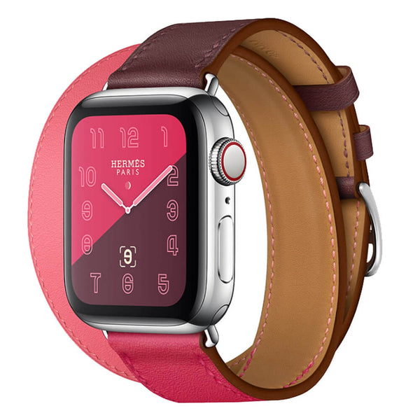 Fashion Leather Straps for Apple Watch 5 4 3 2 1