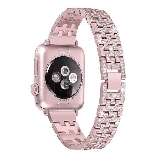 Rhinestone Metal Straps for Apple Watch Series 5 4 3 2 1