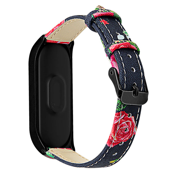 Printed Leather Wristbands for Samsung Galaxy Fit e - BandGet