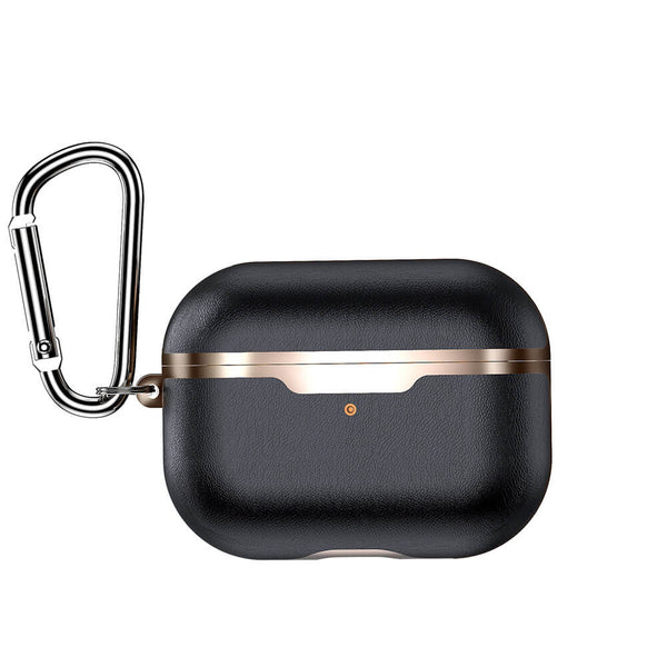Leather Protective Cover for AirPods Pro with Carabiner - BandGet
