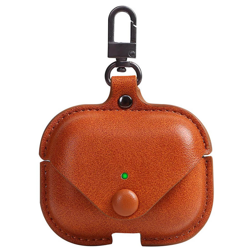 Portable Leather Case for Apple AirPods Pro with Keychain - BandGet