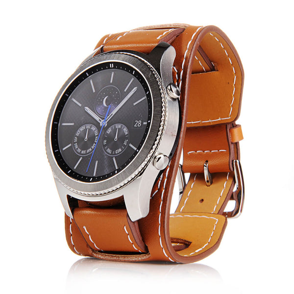 Vintage Leather Wristbands for Samsung Galaxy Watch 46mm - BandGet