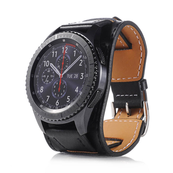 Vintage Leather Wristbands for Samsung Gear S3 - BandGet