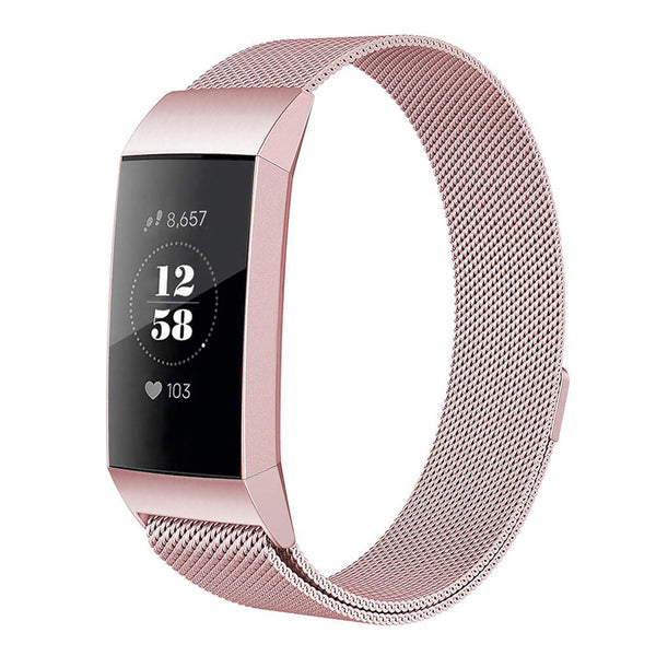 Milanese Mesh Bands Replacement for Fitbit Charge 3 SE & Charge 3 - BandGet