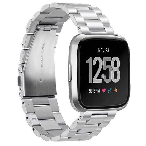 Stainless Steel Bands Replacement for Fitbit Versa 2 / Versa / Versa Lite - BandGet