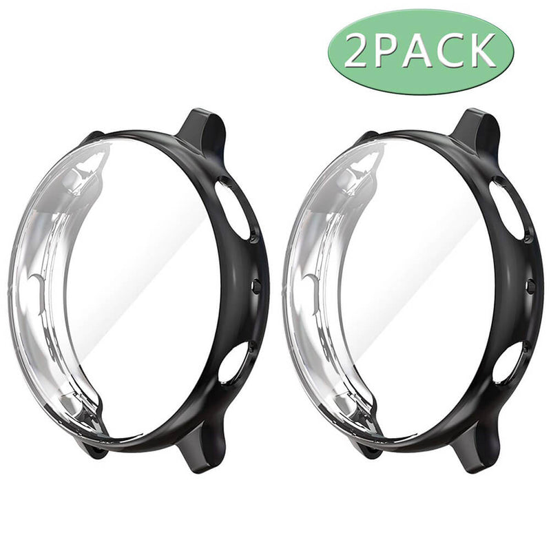2-Pack Screen Protector Case for Galaxy Watch Active 2 40mm 44mm - BandGet