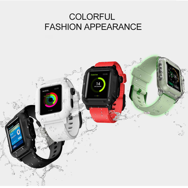 Waterproof Case IP68 Watch Band for Apple Watch 5 4 3 2 - BandGet