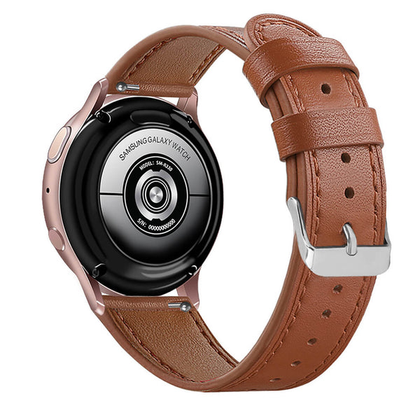 Leather Straps Replacement  for Galaxy Watch Active 2 40mm&44mm